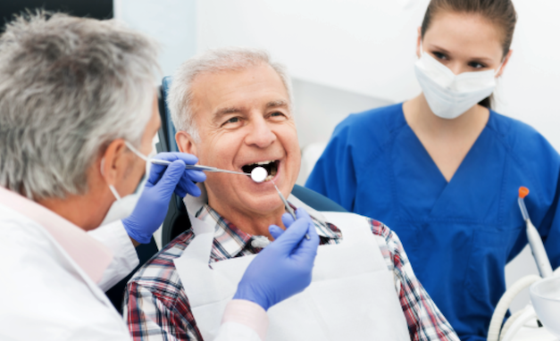 dentistry and senior citizen A look at the pros and cons of dentures and implants for they have become a secondary option to dental senior or not, are not willing to do.